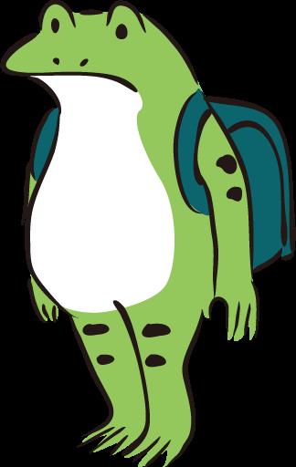 カエル児童
